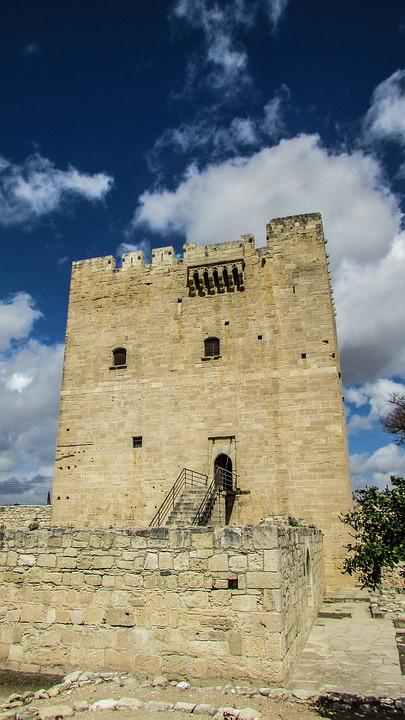 Cyprus, Kolossi, Castle, Medieval, History