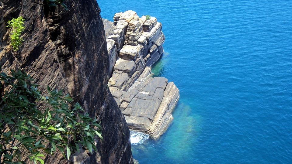 Sri Lanka, Coast, Sea, Trincomalee, Koneshwaran