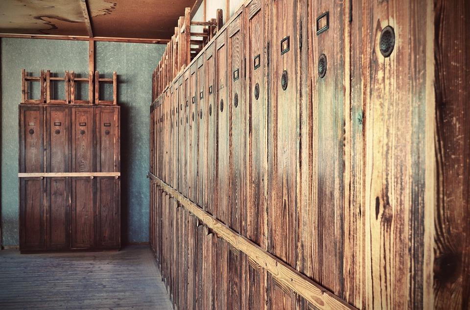 Konzentrationslager, Dachau, Memorial, Cabinets, Lounge
