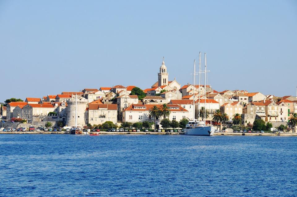 Korcula, Croatia, City, Mediterranean