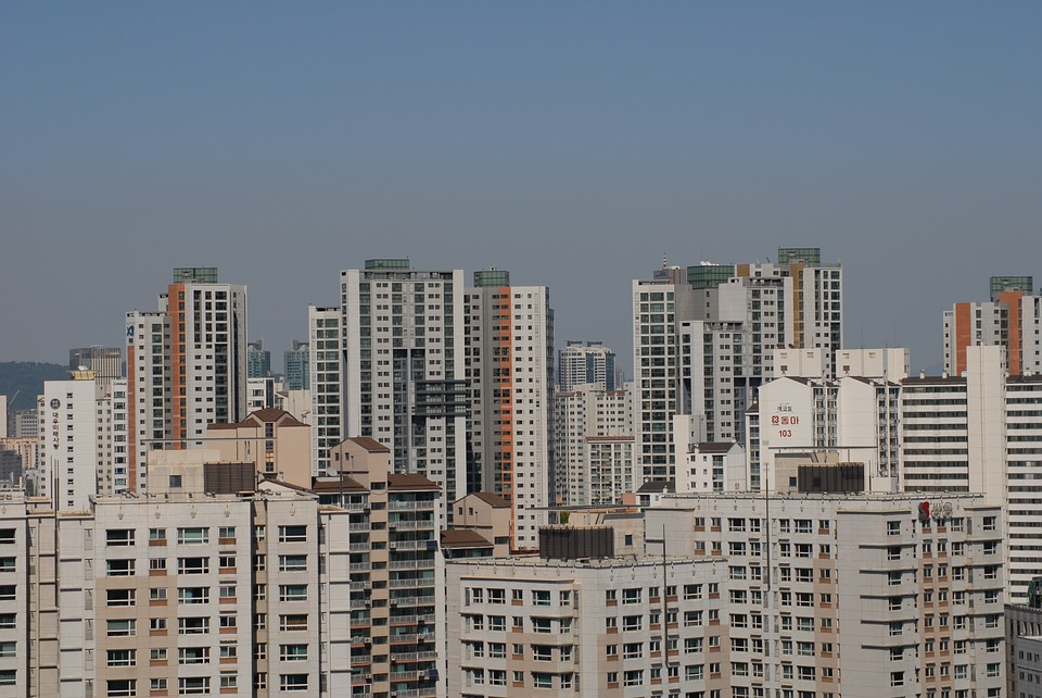 Korea Republic Of Seoul Apartments City