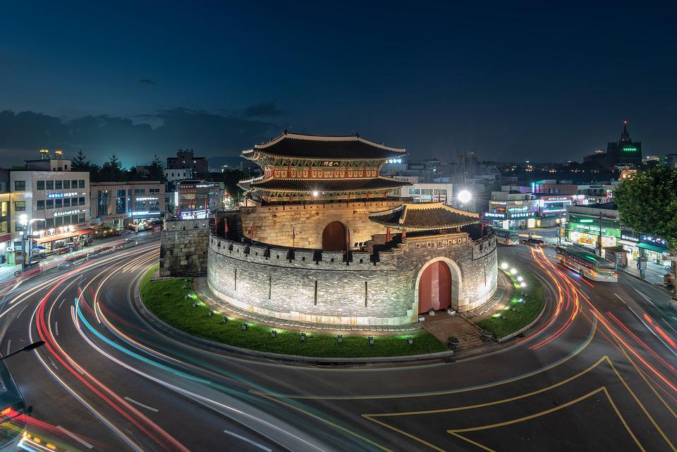 Mars, Paldalmun Gate, Unesco, Korea, Cultural Heritage