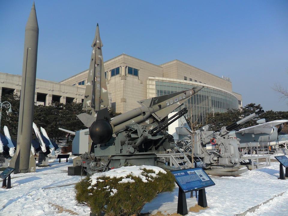Missiles, Weapons, Korea, Snow, Winter, War Museum