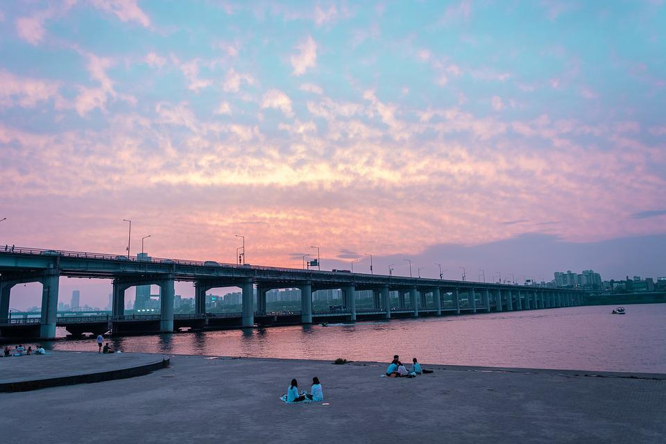 Korea, South Korea, Bridge, Traditional, Seoul