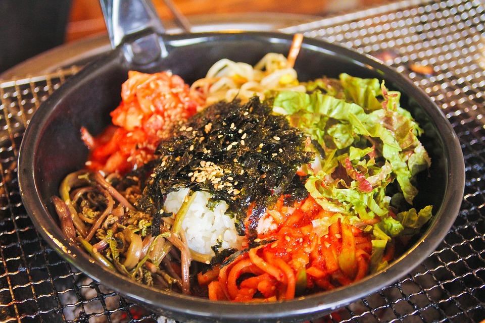 Bibimbap, Republic Of Korea, Jeonju, Herbs, Korean