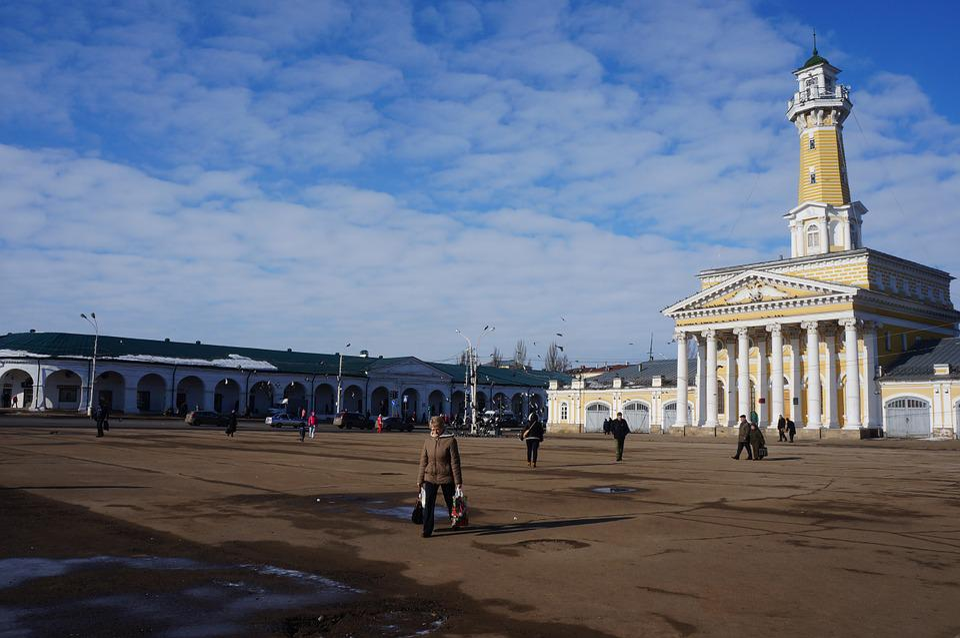 Kostroma, Area, Sky