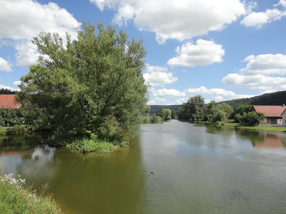 Altmühl, Altmühl Valley, Kottingwoerth, Beilngries