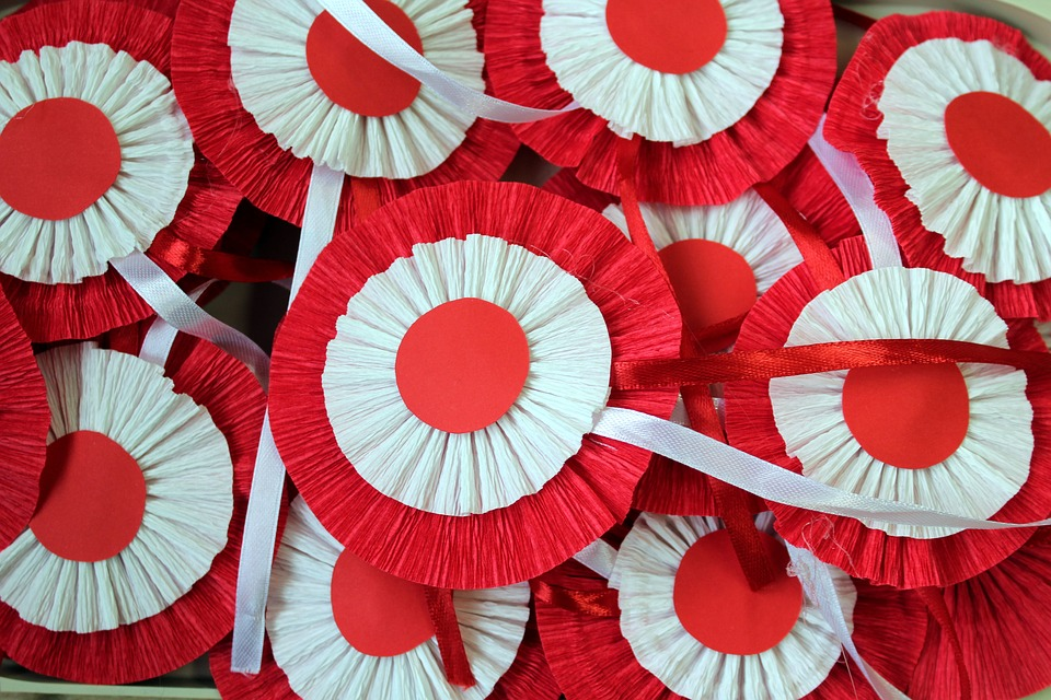 White-red, 11 Nov, Kotyliony, Paper, Independence Day