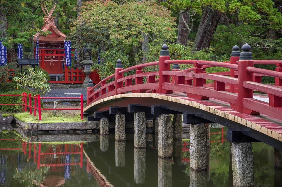 Japan, Koyasan, Buddhism, Temple, Bridge, Spirituality
