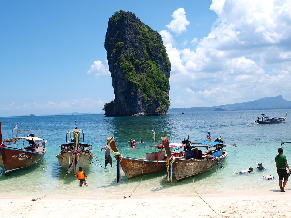 Poda Isand, Ao Nang, Krabi, Thailand