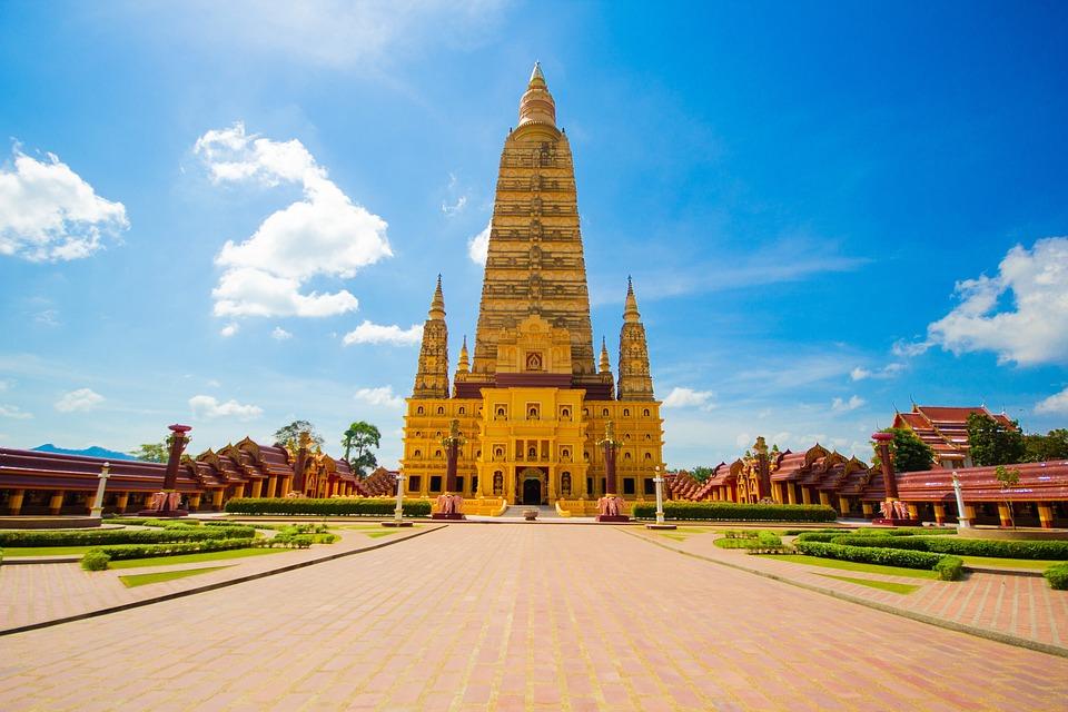 Wat Bang Thong, Buddhist Temple, Krabi
