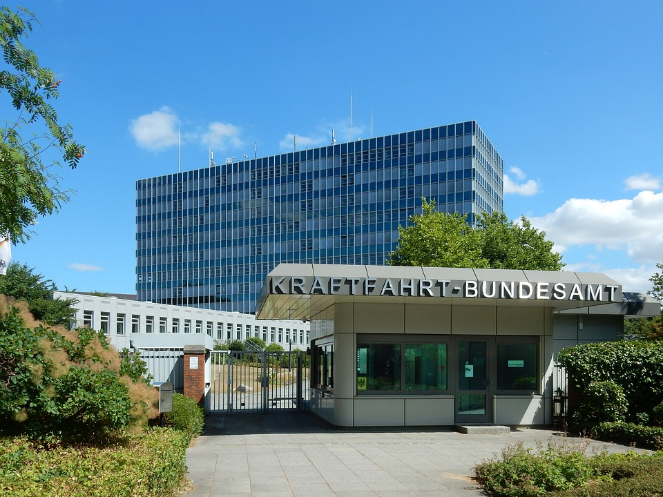 Architecture, Building, Kba, Kraftfahrt-bundesamt