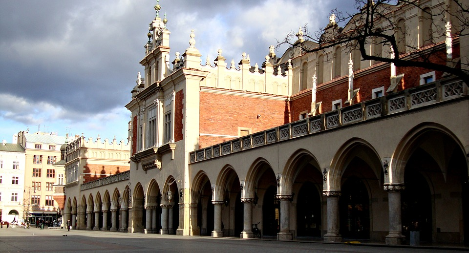 Kraków, Cloth Hall Sukiennice, The Market, Architecture