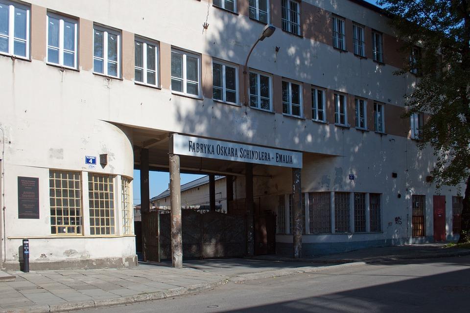 Oskar Schindler, Fabrik, Factory, Lipowa 4, Krakow