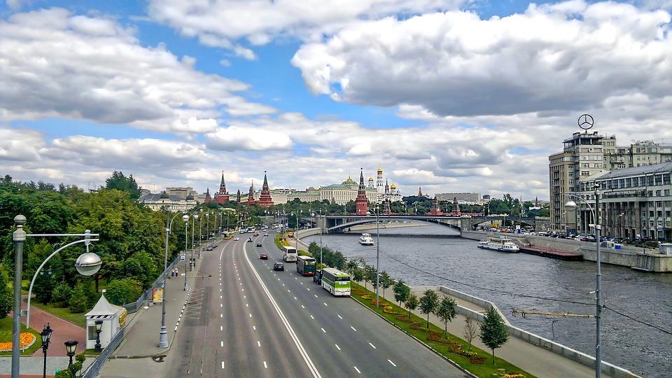 Moscow, Panoramic, Kremlin, Tourism, City, Landscape