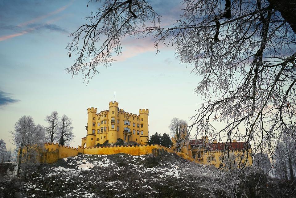 Castle, Winter, High Swan Stone, Kristin, Architecture