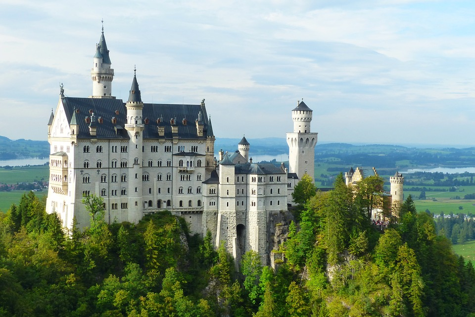 Neuschwanstein Castle, Kristin, Fairy Castle, Allgäu