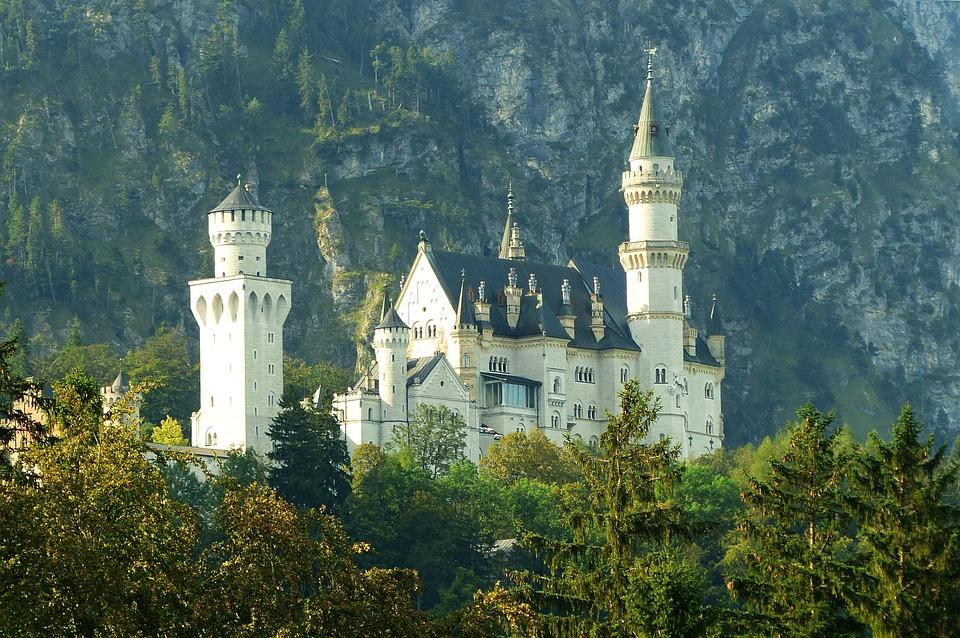 Neuschwanstein Castle, Morning Light, Kristin