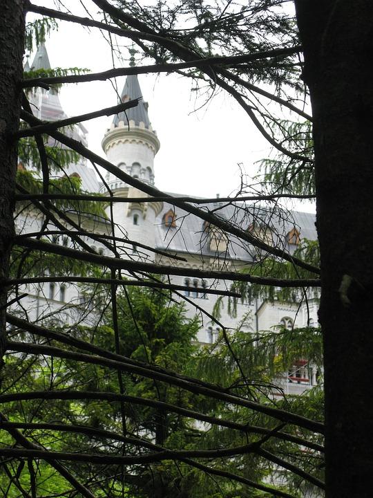 Fairy Castle, Kristin, Poellatschlucht, Spruce, Forest