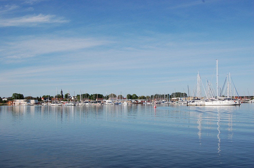 Kröslin, Port, Marina, Boats, Sail, Sail Masts, Ships