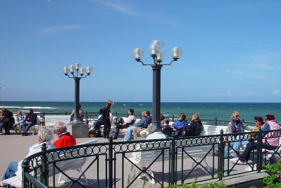 Human, Lake-side Promenade, Baltic Sea, Kühlungsborn