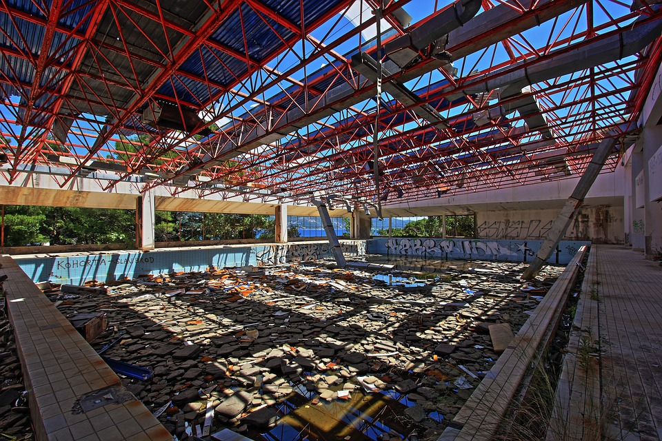 Croatia, Kupari, Abandoned, Hotel, War, Damage