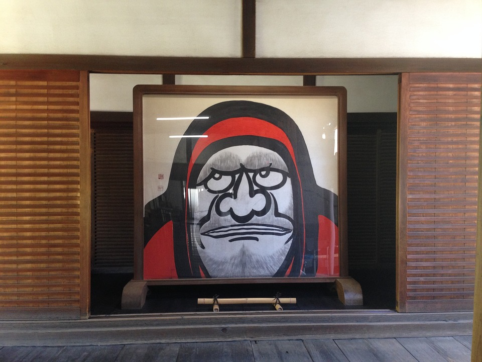 Kyoto, Journey, Daruma Doll