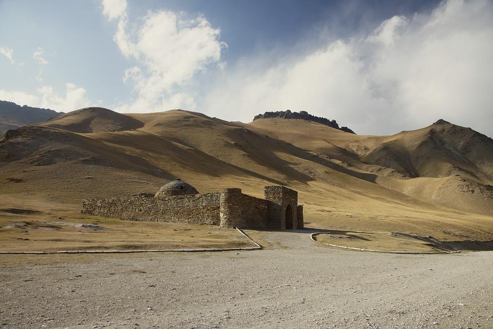 Kyrgyzstan, Tash Rabat, Places Of Interest
