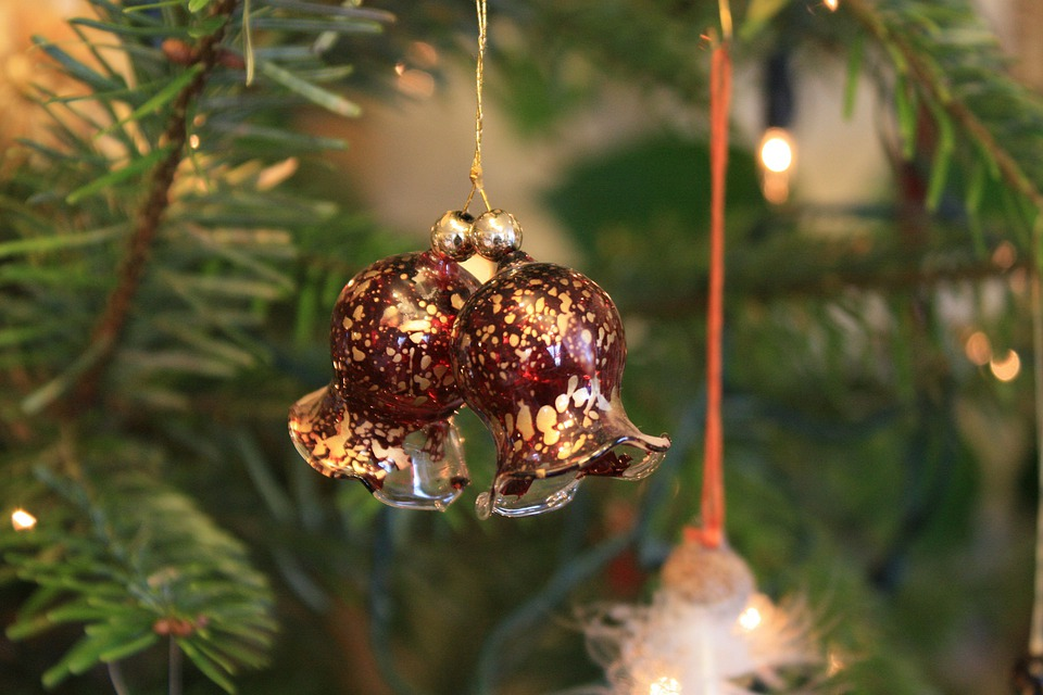 L310, Bell, Christmas Ornaments, Christmas Card