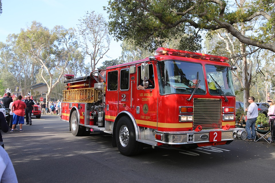 Fire Engine, La County Fire Department