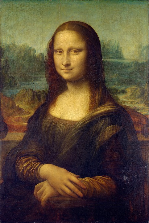 Mona Lisa, Leonardo Da Vinci, La Gioconda, Oil Painting