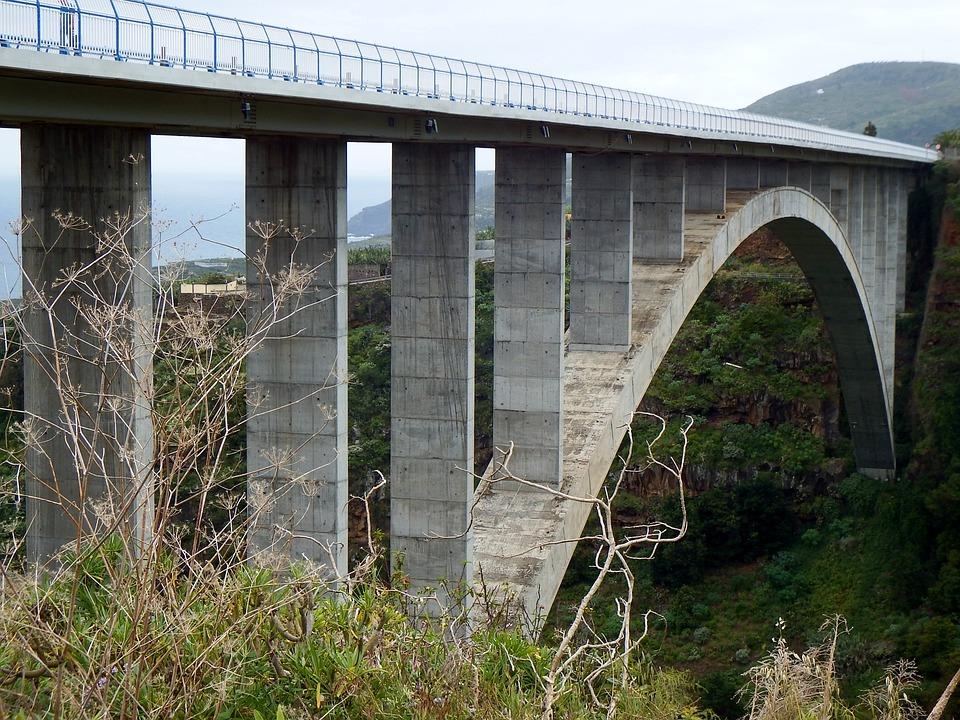 San Andrés Y Sauces, La Palma, Los Tilos Bridge, Bridge