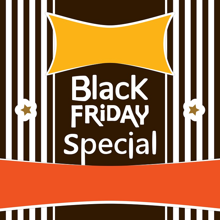 Black Friday, Sale, Shopping, Banner, Label, Sticker