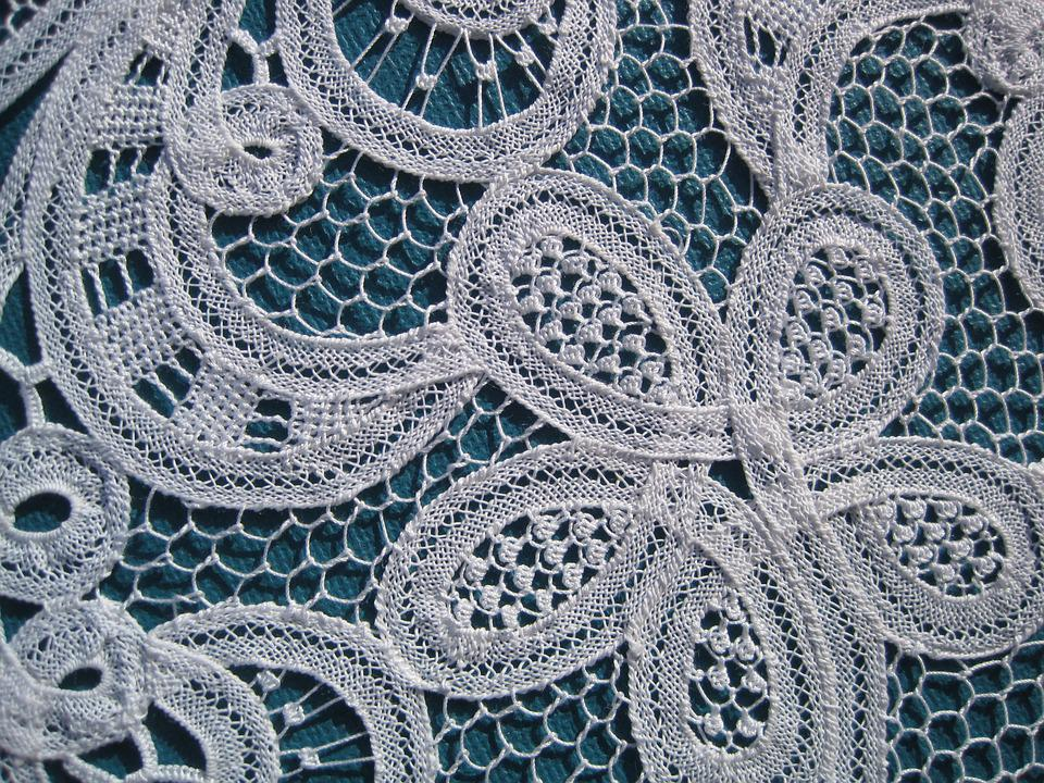 Embroidery, Lace, Luxeuil, Couture