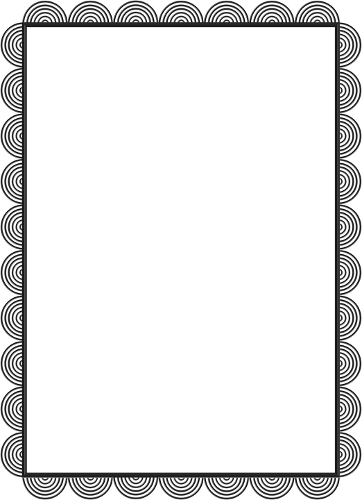 Black, Lace, Frame, Gray, Detailed, Border, Picture
