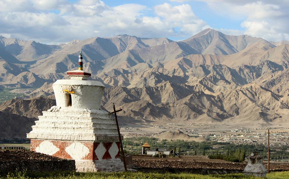 India, Ladakh, Buddhism, Himalaje, Mountains