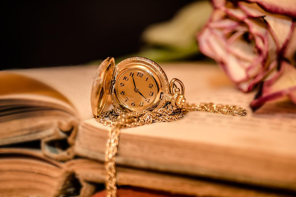 Clock, Ladies Pocket Watch, Time, Clock Face, Pointer