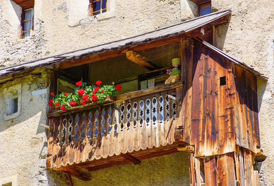 Rural, Structure, Ladinia, Dolomites, Construction, Old