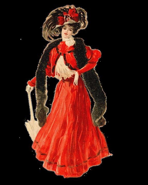 Lady, Vintage, Woman, Edwardian, Fashion Doll