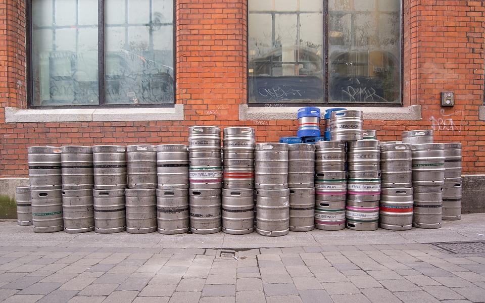 Beer, Barrels, Pub, Alcohol, Drink, Beverage, Lager