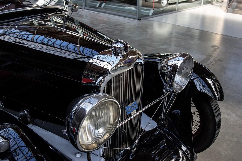 Auto, Lagonda, Oldtimer, Chrome, Grille