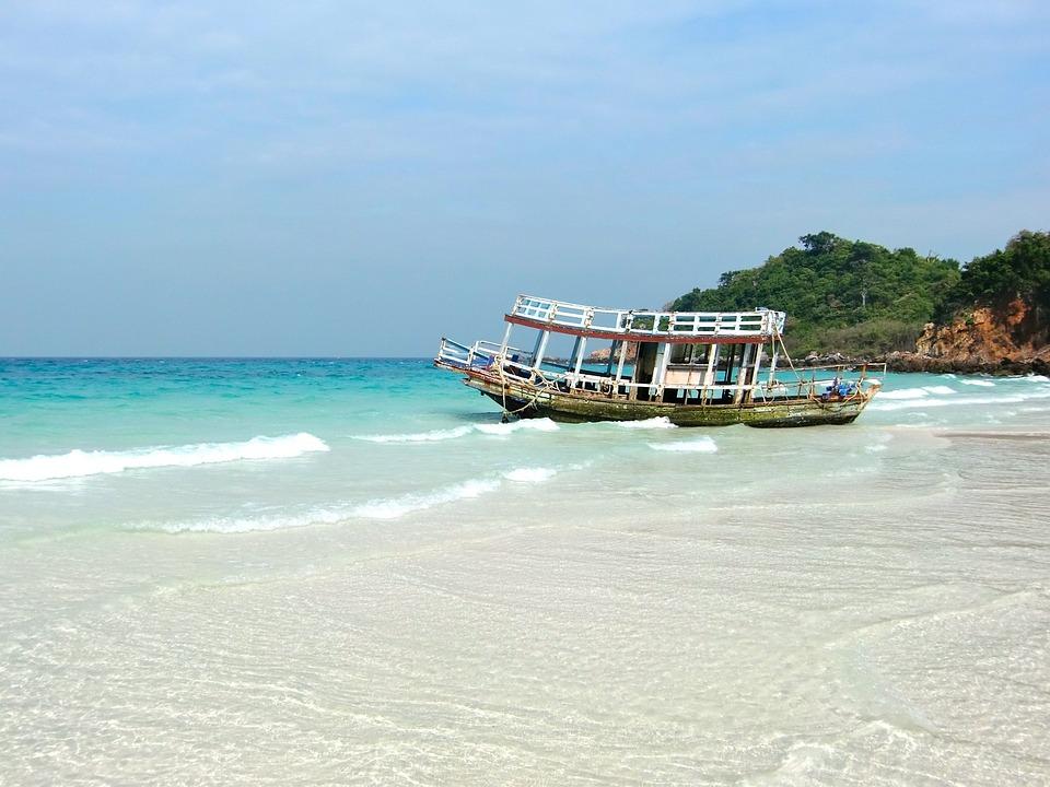 Lagoon, Booked, Holiday, Beach, Summer, Sea, Boot