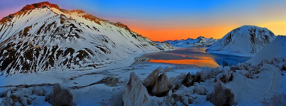 Laguna, Cordillera, Mountain, Andes, Mountains