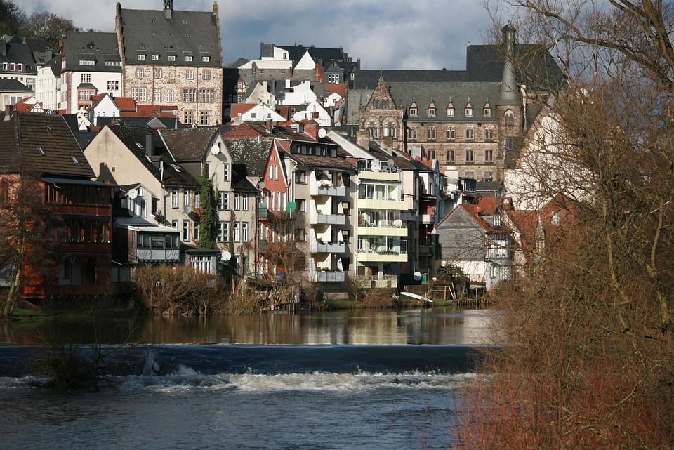 Lahn, Labadze Marburg At Marburg, Lahn Mountains