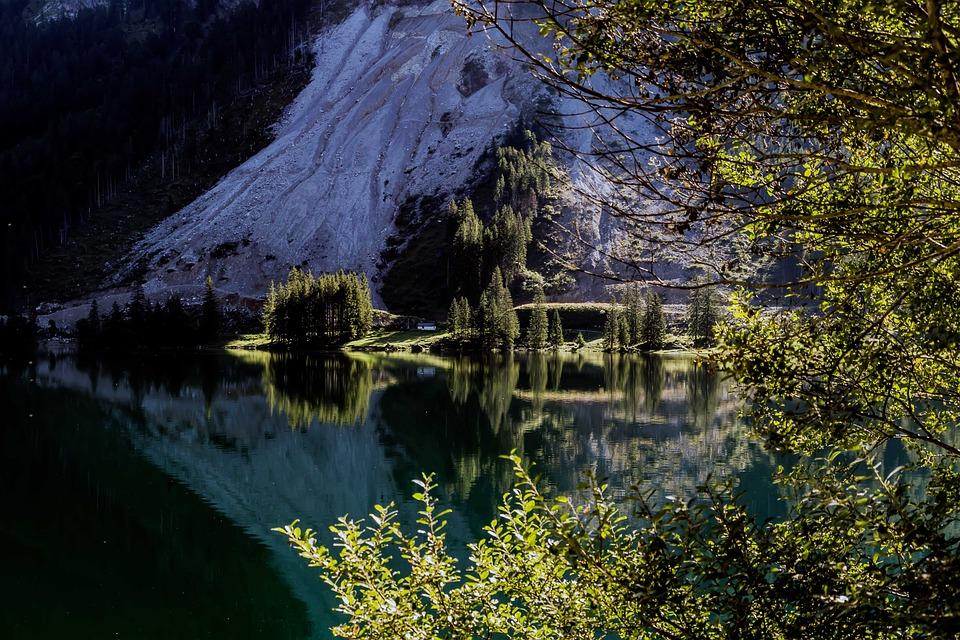 Lake, Mountains, Water, Alpine, Reflection