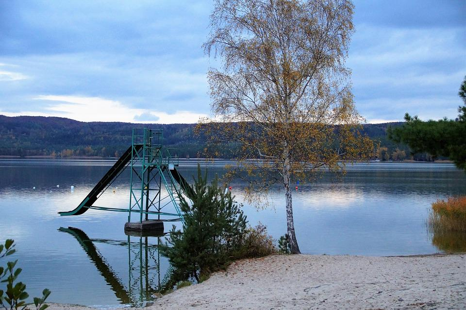 Macha, Lake, Scenic, Twilight, Evening, Mood, Autumn