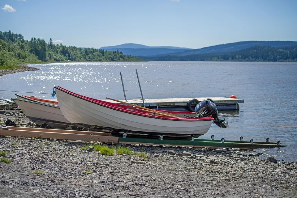 Sweden, Fjäll, Landscape, Boot, Bank, Lake, Ship, Water