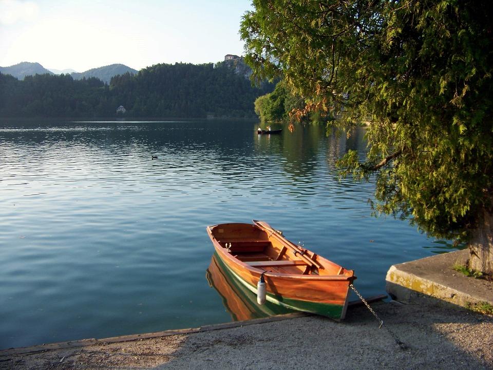 Lake Bled, Karawanken, Slovenia, The Gorenjska Region