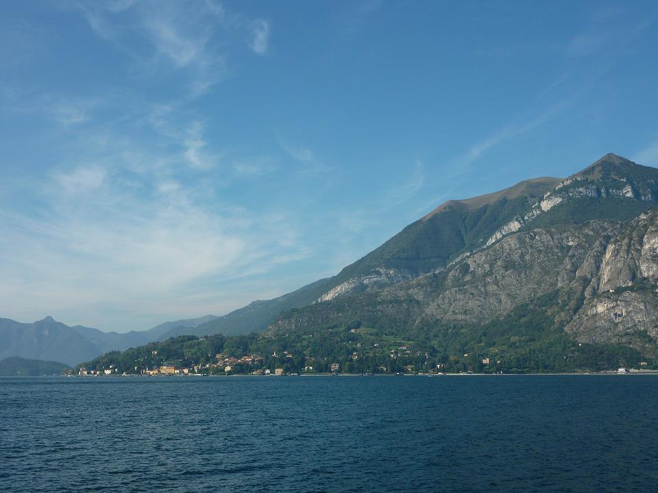 Lake Como, Italy, Mountains