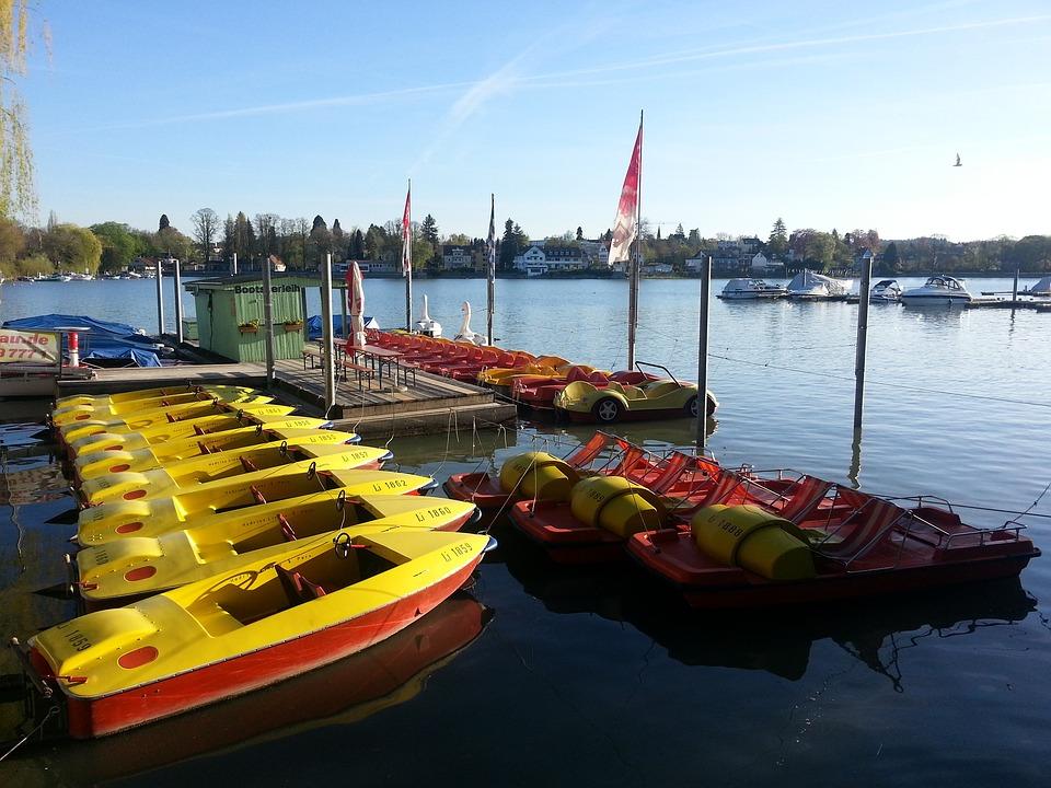 Lake Constance, Lindau, Boat Rental, Boats, Bavaria
